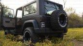 Mahindra Thar to Jeep Wrangler Conversion by Jeep Studio Rear Angle Doors Open