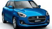 (Maruti) Suzuki Swift Hybrid launched front blue