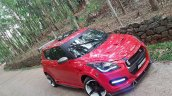 Maruti Swift modded Nissan GT-R front quarter
