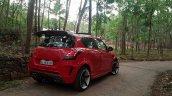 Maruti Swift modded Nissan GT-R rear three quarter