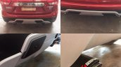 Maruti Vitara Brezza exhaust tips by VM Customs