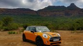 Mini Cooper S with JCW Tuning Kit 2017 front three quarter far Review