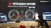 Mitsubishi Expander MPV Unveiled Instrument Console