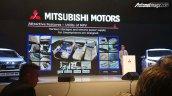 Mitsubishi Expander MPV Unveiled Seat Layout