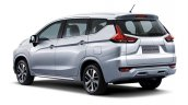 Mitsubishi Xpander rear three quarters official image