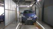 NEXA Service car washing area