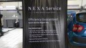 NEXA Service quick service repair bay