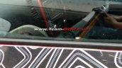 Renault Captur (Renault Kaptur) dashboard spy shot Vellore