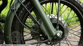 Royal Enfield Bullet 350 Encode by Haldankar Customs front brake