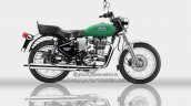 Royal Enfield Bullet ES 350 side Redditch Green - IAB Rendering