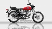 Royal Enfield Bullet ES 350 side Redditch Red - IAB Rendering