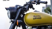 Royal Enfield Classic 350 in Matte Yellow by ParPin's Garage headlamp