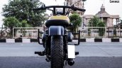 Royal Enfield Classic 350 in Matte Yellow by ParPin's Garage rear
