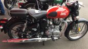Royal Enfield Classic 500 Redditch red side