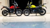Royal Enfield Himalayan candy colours red and yellow