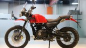 Royal Enfield Himalayan candy colours red rear side left