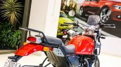 Royal Enfield Himalayan candy colours red rear three quarter