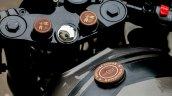 Royal Enfield Thunderbird 500 cafe racer by Rajputana Customs badging