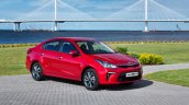 Russian-spec 2017 Kia Rio sedan front three quarters