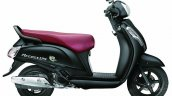 Suzuki Access 125 matte black side