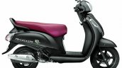 Suzuki Access 125 matte grey side
