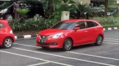 Suzuki Baleno Spotted in Indonesia Front Left Three Quarters