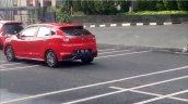 Suzuki Baleno Spotted in Indonesia Rear Left Three Quarters
