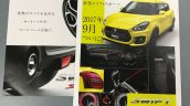 Suzuki Swift Sport Catalogue Leaked Image