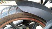 TVS Apache RTR 160 facelift rear wheel