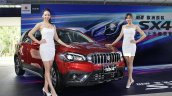 Taiwanese-spec 2017 Suzuki SX4 (2017 Maruti S-Cross) front three quarters left side