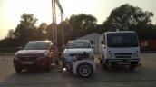 Tata Bolt EV, Tata Vista EV and Tata Ace EV