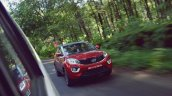 Tata Nexon Review Test Drive Action Shot Front