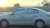 Thai-spec 2017 Toyota Yaris Sedan profile spy shot