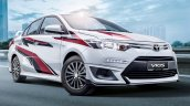 Toyota Vios Racing Edition front three quarters right side