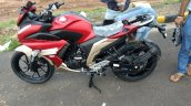 Yamaha Fazer 250 Spied Undisguised Side View