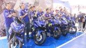 Yamaha R15 v3.0 Movistar MotoGP livery front cover