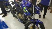 Yamaha V-Ixion Movistar front three quarter right