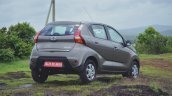 Datsun redi-GO 1.0 Review gray right rear three quarters