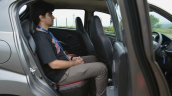 Datsun redi-GO 1.0 Review rear seat space