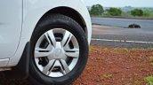 Datsun redi-GO 1.0 Review white front wheel cover