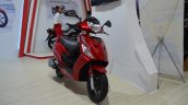 2017 Hero Maestro Edge Red at Nepal Auto Show front right quarter
