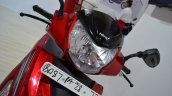 2017 Hero Maestro Edge Red at Nepal Auto Show headlamp