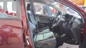 2017 Honda BR-V front seats at Nepal Auto Show