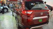 2017 Honda BR-V rear three quarters at Nepal Auto Show