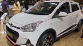 2017 Hyundai Grand i10X (facelift) front three quarter 2017 GIIAS Live