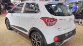 2017 Hyundai Grand i10X (facelift) rear quarter 2017 GIIAS Live