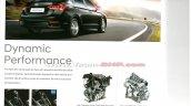 2017 Hyundai Verna brochure leaked engine and transmission