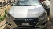 2017 Hyundai Verna caught completely undisguised front view