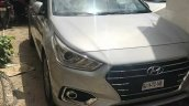 2017 Hyundai Verna caught completely undisguised front