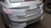2017 Hyundai Verna spied on way to dealership tail